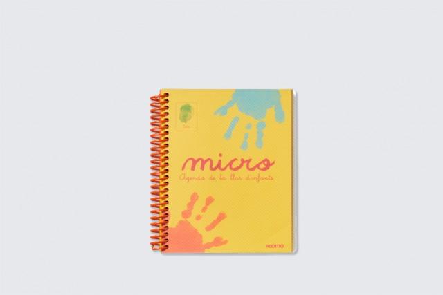 agenda per a preescolar micro d'additio, portada