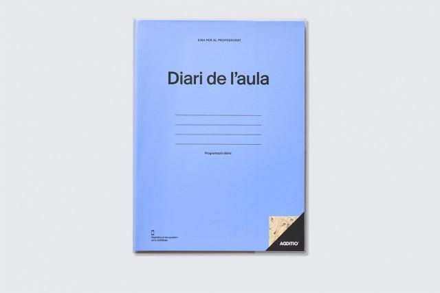 Quadern de professorat, diari de l'aula d'Additio, portada