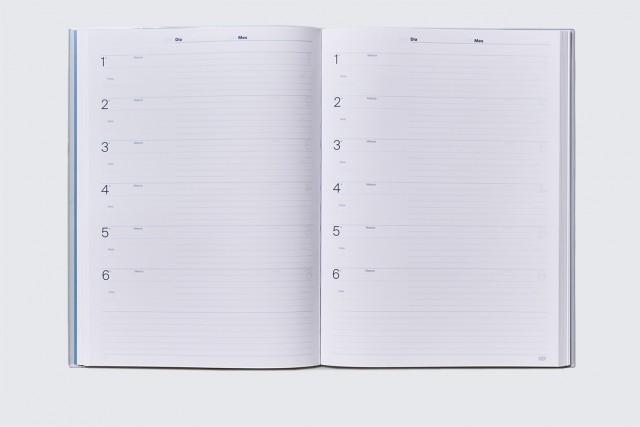 Quadern de professorat, diari de l'aula d'Additio, interior