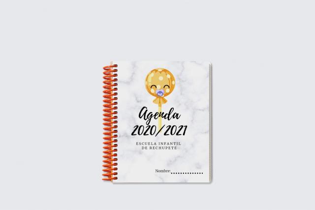 agenda micro para preescolar personalizada marca Additio