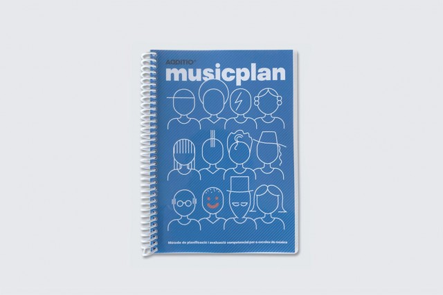 Musicplan agenda per a escoles de música portada