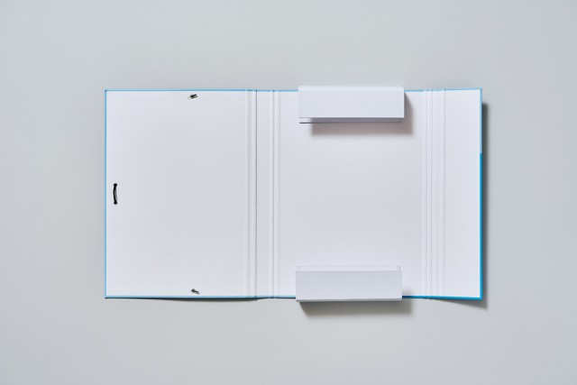 carpeta escolar personalitzable de cartró 3 solapes Additio