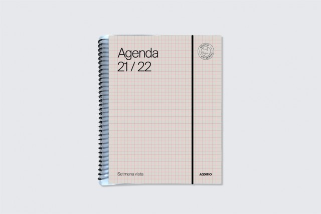 agenda universal setmana vista additio color beige