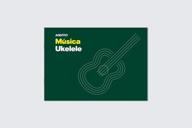 quadern de música ukelele d'additio