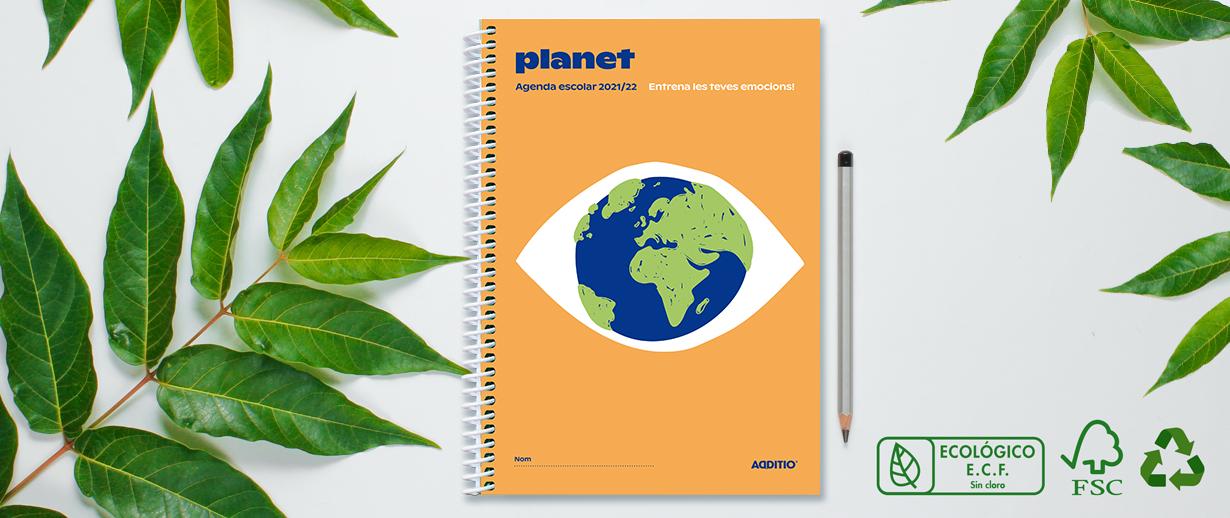 Agenda Planet i compromís medi ambiental d'Additio